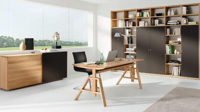 home office von team 7 im einrichtungshaus h lzlwimmer. Black Bedroom Furniture Sets. Home Design Ideas